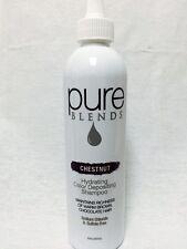 Pure Blends Hydrating Color Depositing Shampoo Chestnut 8.5 oz / 250 ml