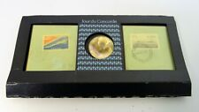 """coffret souvenir pièce médaille timbre  """"Jour du Concorde""""  1er vol  21/01/1976."""