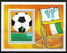 STAMPS-IVORY COAST. 1978. World Cup Football-Argentina M/Sheet. SG: MS545. MNH
