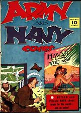 Army and Navy Comics #1 Golden Age Street & Smith 1.0