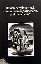 1968 Kodak Mysterious Scary Movie Camera art by Charles Adams vintage print ad