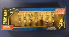 New Star Trek 50th Anniversary Complete Chibis Set 14 Characters Gold Spock Kirk