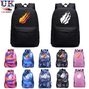Prestonplayz Print School Bag Kids Sports Backpack Outdoor Travel Bag Handbags
