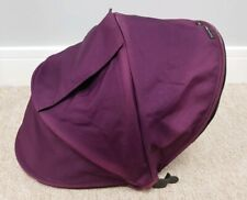 Baby Jogger City Select hood - purple - fair condition