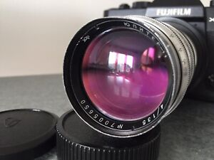 RARE JUPITER-11 USSR Sonnar copy 4/135 Telelens Soviet lens M42
