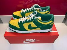 New Nike Dunk Low Brazil Size UK 9 US 10 - UPS NEXT DAY DELIVERY - CU1727-700