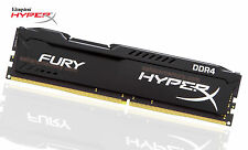 16G Kingston (1x16GB) DDR4 2400 HyperX Fury ramDesktop Memory HX424C15FB/16 Game