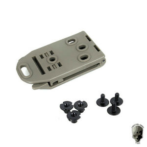 TMC Belt Clip Tactical Holster with 3 Screws For Tactical Belt Military Hunting