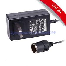 New AC 100-240V to DC 12V Car Cigarette Lighter Socket Adapter Power Converter
