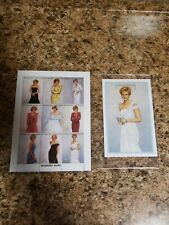 "Princess Diana Royal Gowns Stamps Sheet+""White Chiffon Evening Dress"" Stamp"