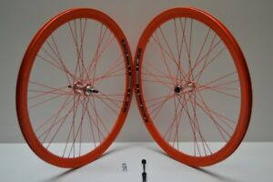 Roues Cercles 28 Seule Vitesse Fixe Pignon Fixe Vintage 700x23 Raktor Gipiemme 1