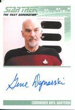 Star Trek The Complete Next Generation Series 2 Autograph Gene Dynarski