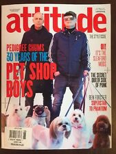 Attitude Pet Shop Boys Pedigree Chums Style Ben Forster April 2016 FREE SHIPPING