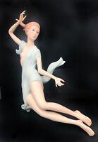 Laszlo Espanky Beautiful Woman Figurine Sculpture Entitled Dawn Damaged Base