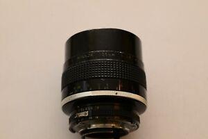 Nikkor 105mm 1.8 Ais Telephoto Lens in Nikon F Mount