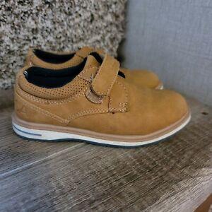 Nautica Toddler Boys Sz 9 Camel Tan Suede Casual/ Dress Shoes Madaket 2