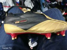 REEBOK football boots balini in GOLD/black size 7   9 uk at £20 bnwl man made