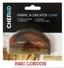 Chef Aid 10E00265 Fabric and Sweater Comb, Yellow