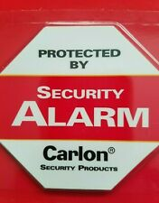 6 BACK ADHESIVE WINDOW or DOOR DECAL -WARNING STICKER ALARM SECURITY SYSTEM