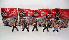 WWE SERIES 1 MIGHTY MINIS FIGURE LOT OF 5 LOOSE ROMAN SETH MDM RUSEV UNDERTAKER