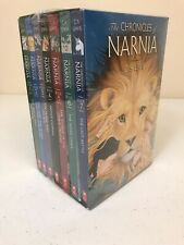 NEW The Chronicles of Narnia SEALED Box Set 7 books in boxed set C. S. Lewis