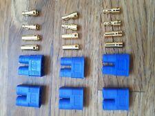 6pcs (3 Sets) EC3 Connector RC Battery ESC Plug. Canadian Seller.