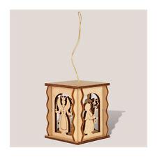 "Rauta 17077 Miniature Lantern "" Angel + Bergmann "" 1:12 For Dollhouse Wood New"