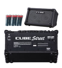 Roland Cube Street Guitar Combo Amp w/6 Free Universal Electronics Batteries New