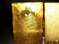 Japanese OMAMORIA Amulet card GOLD DRAGON Better fortune NEW FROM JAPAN