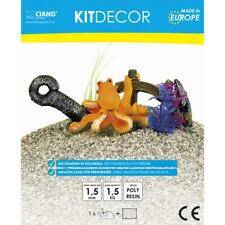 Ciano Kit Decor Octopus and Sand for Aquariums Fish Tanks