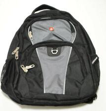 Swiss Gear Airflow Black Multi Pocket Cushioned Backpack Laptop Bag Black NWOT