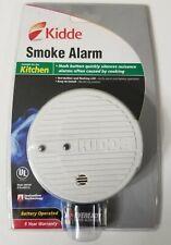 Kidde Smoke Alarm for Kitchen with Hush Button Model 0916K - NEEDS BATTERY