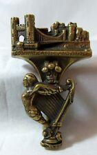 Vintage Brass Door Knocker Conway Castle & Bridge -10cm Weighs 119g