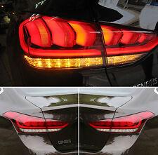 Genuine OEM LED Tail Light Lamp LH RH 4p For 2015 2016 Hyundai Genesis Sedan