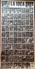 Frans MASEREEL: La IDEA, affiche 100 x 42 cm.