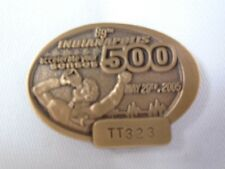 2005 Indianapolis 500 Bronze Pit Badge Dan Wheldon Corvette C6 Andretti
