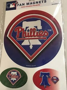 BRAND NEW PHILADELPHIA PHILLIES MLB MAGNETS FREE SHIPPING