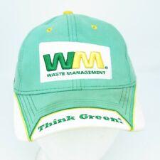 Sterlin Marlin Waste Management Strapback NASCAR Hat - WM Garbage Man #14 Cap