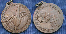 MEDAGLIA A.N.A. 63.a ADUNATA NAZIONALE DEGLI ALPINI A VERONA 1990 - BRONZO #1