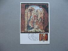 GERMANY BERLIN, maximumcard maxi card 1979, Christmas donkey ox