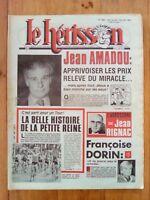 LE HERISSON n°1889 - 1982 - Humour - Françoise Dorin - tour de France