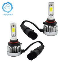 2 × H10/9145 9140 COB LED Fog Light Conversion Kit Bulbs 6500K Xenon White