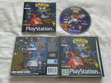 Crash Bandicoot 2 Cortex Strikes Back PS1 (COMPLETE)Sony PlayStation black label
