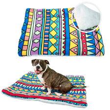 Soft Fleece Dog Bed Mat Winter Warm Mattress House Kennel Cushion Nest Sofa S-XL