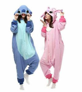 Unisex Adult Stitch Onesie991 Kigurumi Cosplay Costume Animal Sleepwear Pajamas