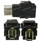 Keystone Connector Firewire 6 Pin, Black