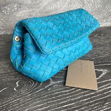 BOTTEGA VENETA 100% Authentic 🌈 650$ Leather Cosmetic Pouch Clutch Bag