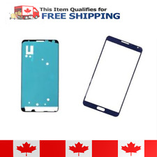 Samsung Galaxy Note 3 Blue Front Glass Lens And Adhesive Sticker