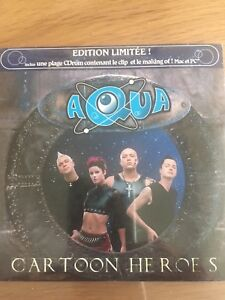 Cartoon Heroes ~ Aqua - CD-ROM - EDITION LIMITEE - NEUF