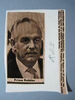 '83 Press Wire Photo Prince Rainier Denies Caroline & Prince Charles Romance
